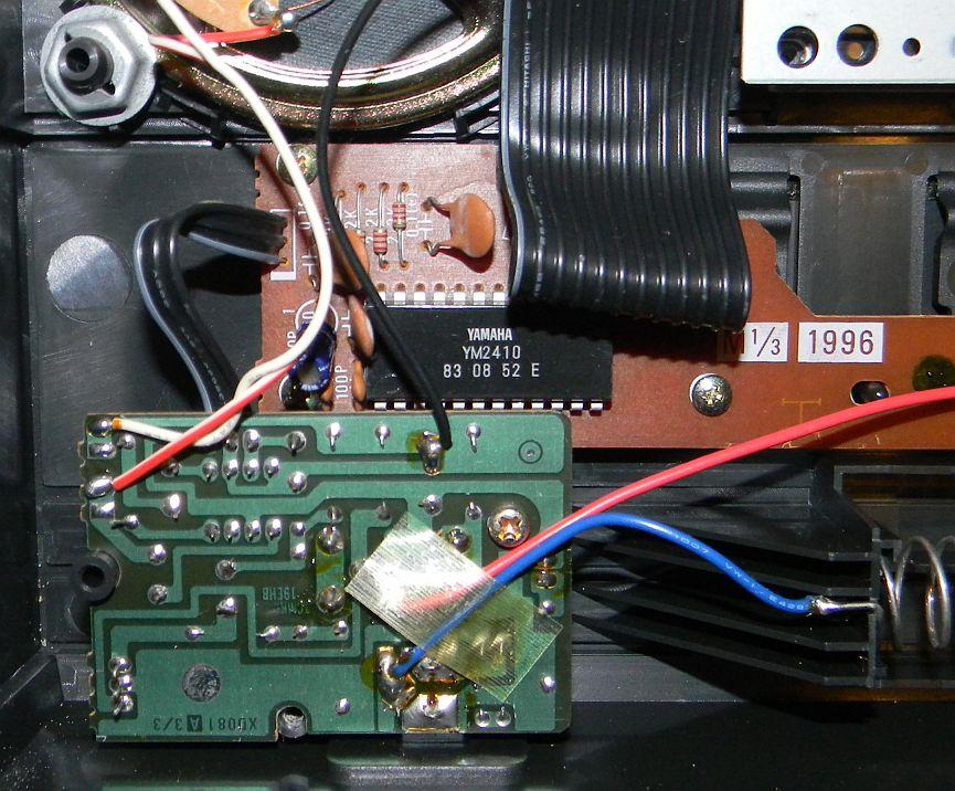 Yamaha Portasound Pss Circuit Bending